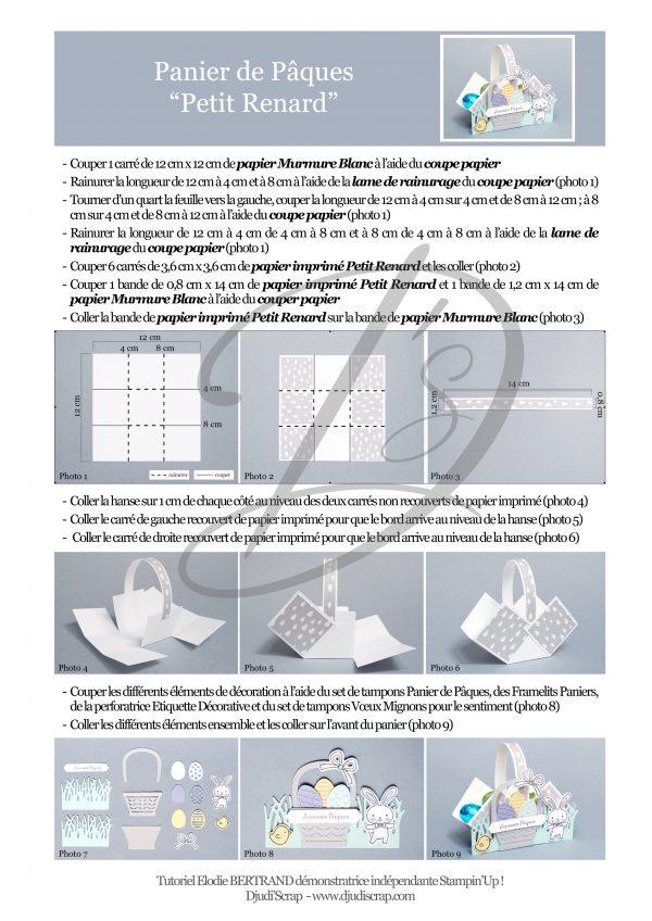 Microsoft Word - Panier de P‰ques Petit Renard 1.doc