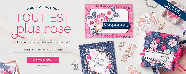 2019 05 01 Stampin'Up! Promotion – Exclusivité Collection Tout est plus rose 3