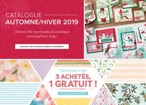 2019-2020 Catalogue Automne Hiver & Promotion Papier Design en folie