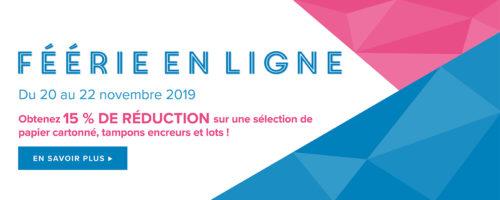 2019 11 20-22 Stampin'Up! Promotion – La féérie en ligne 2