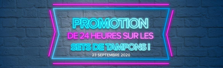 2020 09 23 Stampin'Up! Promotion – Promotion 24h Set de tampons à – 15% 1