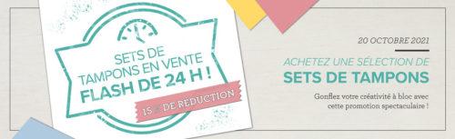 2021 10 20 Stampin'Up! Promotion – Promotion 24h Set de tampons à – 15% 1