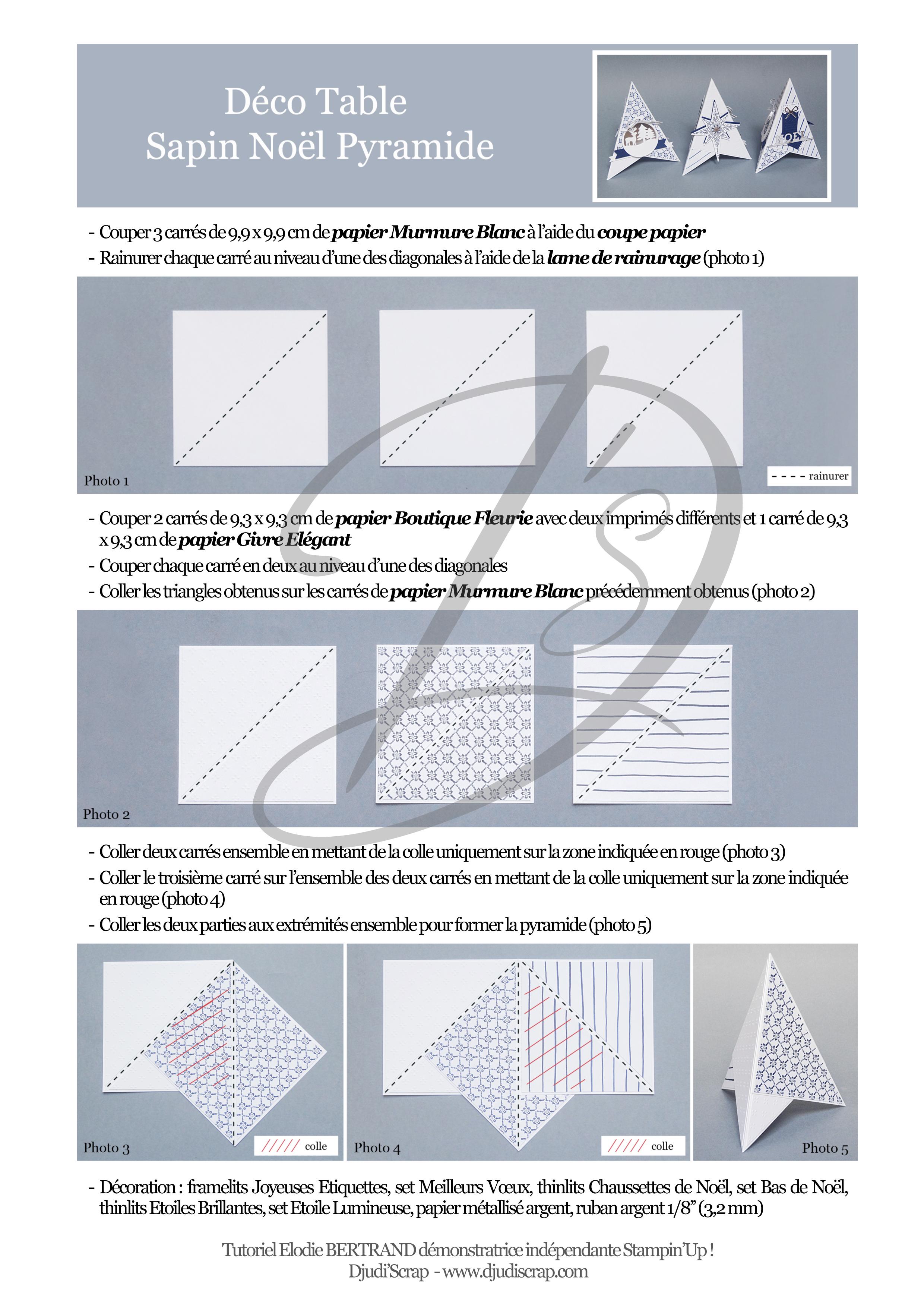 Microsoft Word - DŽco Table Sapin Nol.doc