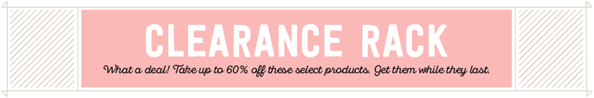 2017 08 15 Stampin'Up! Promotion – Fin de série : Clearance rack 2