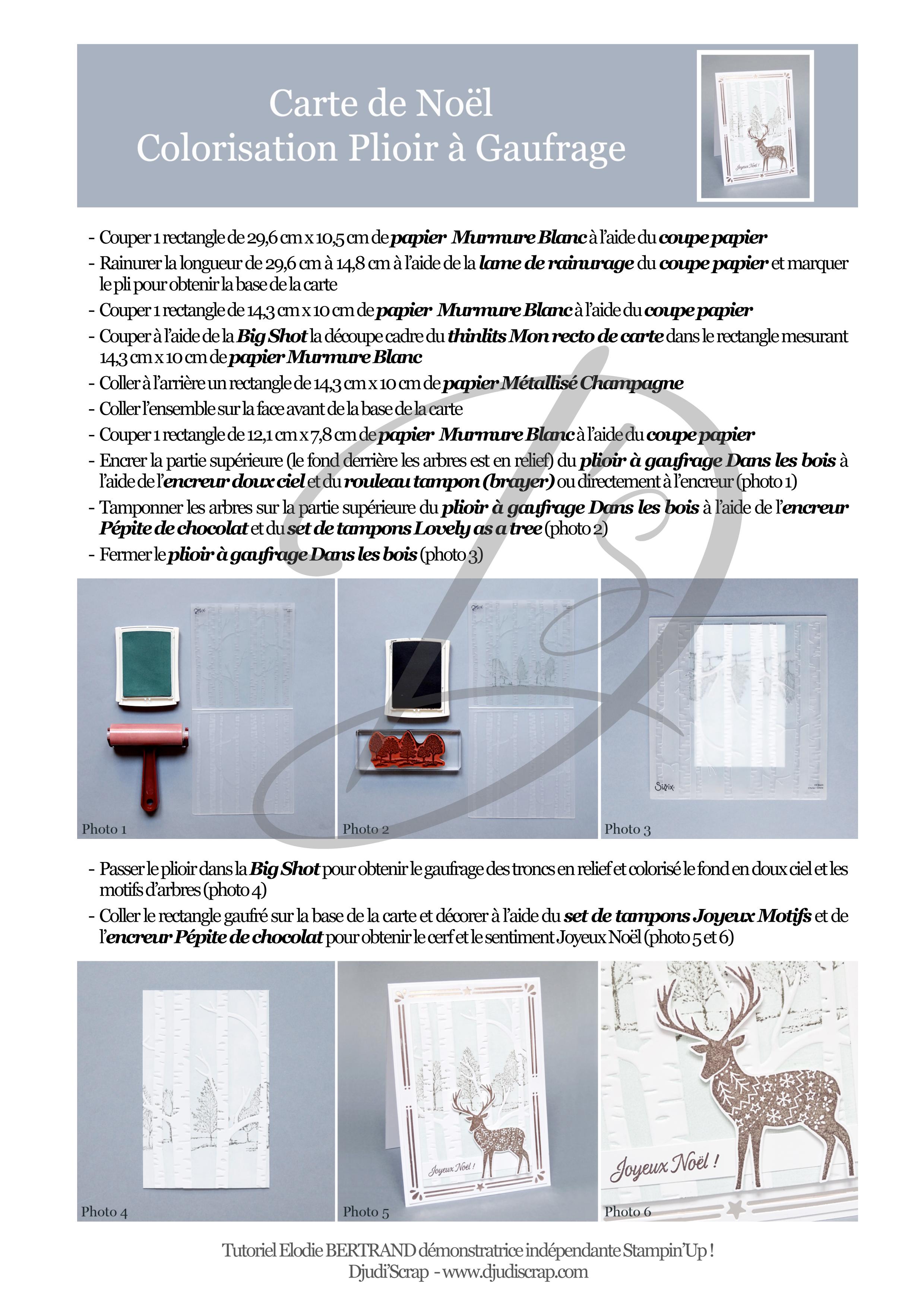 Microsoft Word - Carte de No'l Colorisation Plioir à gaufrage.doc