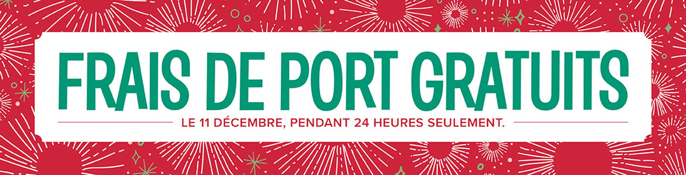 2017 12 11 Stampin'Up! Promotion – Frais de port gratuit 1