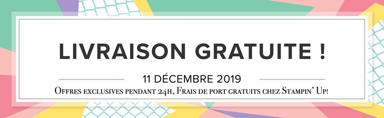 2019 11 11 Stampin'Up! Promotion – Frais de port gratuit 2