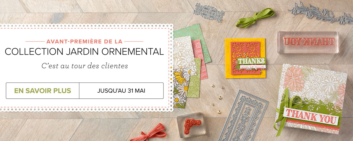2020 04 01 Stampin'Up! Promotion – Exclusivité Collection Jardin Ornemental 2