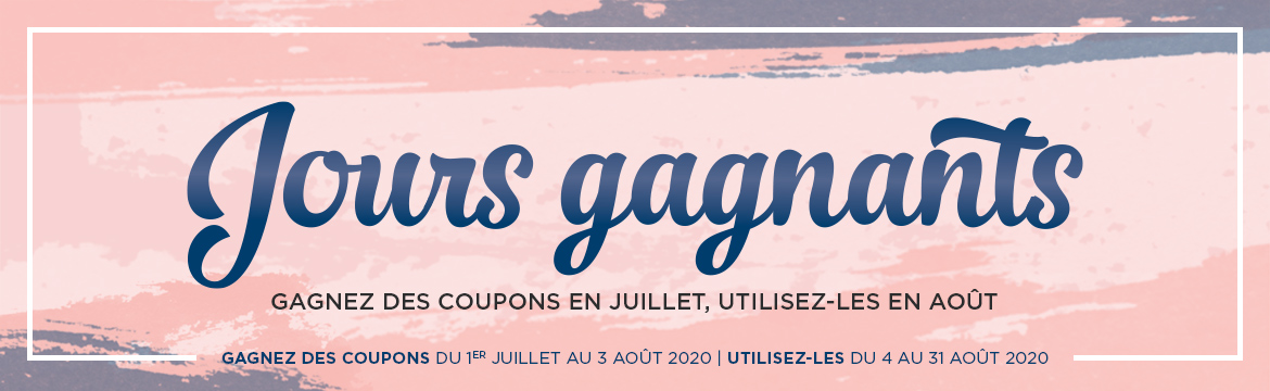 2020 07 01 – 08 03 Stampin'Up! Promotion Les Jours Gagnants 1