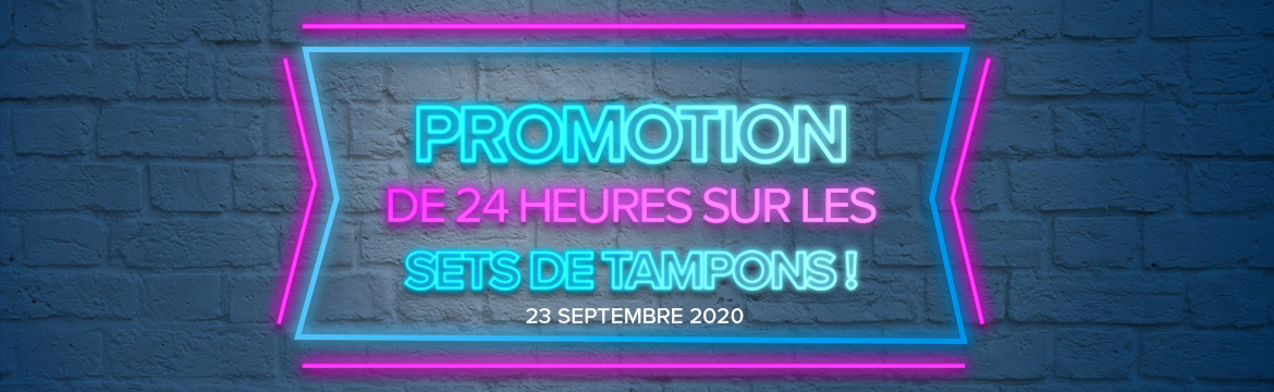 2020 09 23 Stampin'Up! Promotion – Promotion 24h Set de tampons à – 15% 1