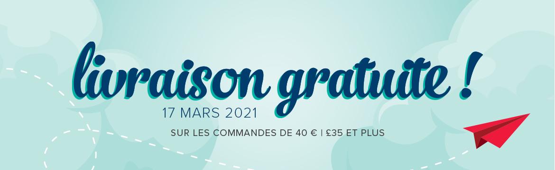 2021 03 17 Stampin'Up! Promotion – Livraison gratuite 1