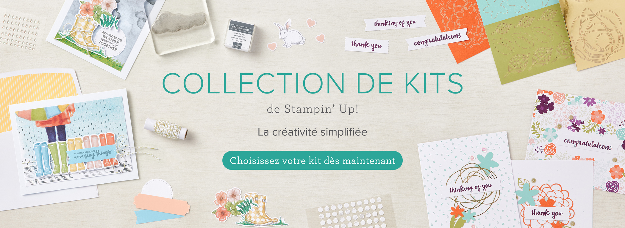 2021 06 01 Stampin'Up! Collection de Kits 1