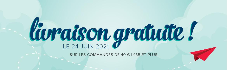 2021 06 24 Stampin'Up! Promotion – Livraison gratuite 1